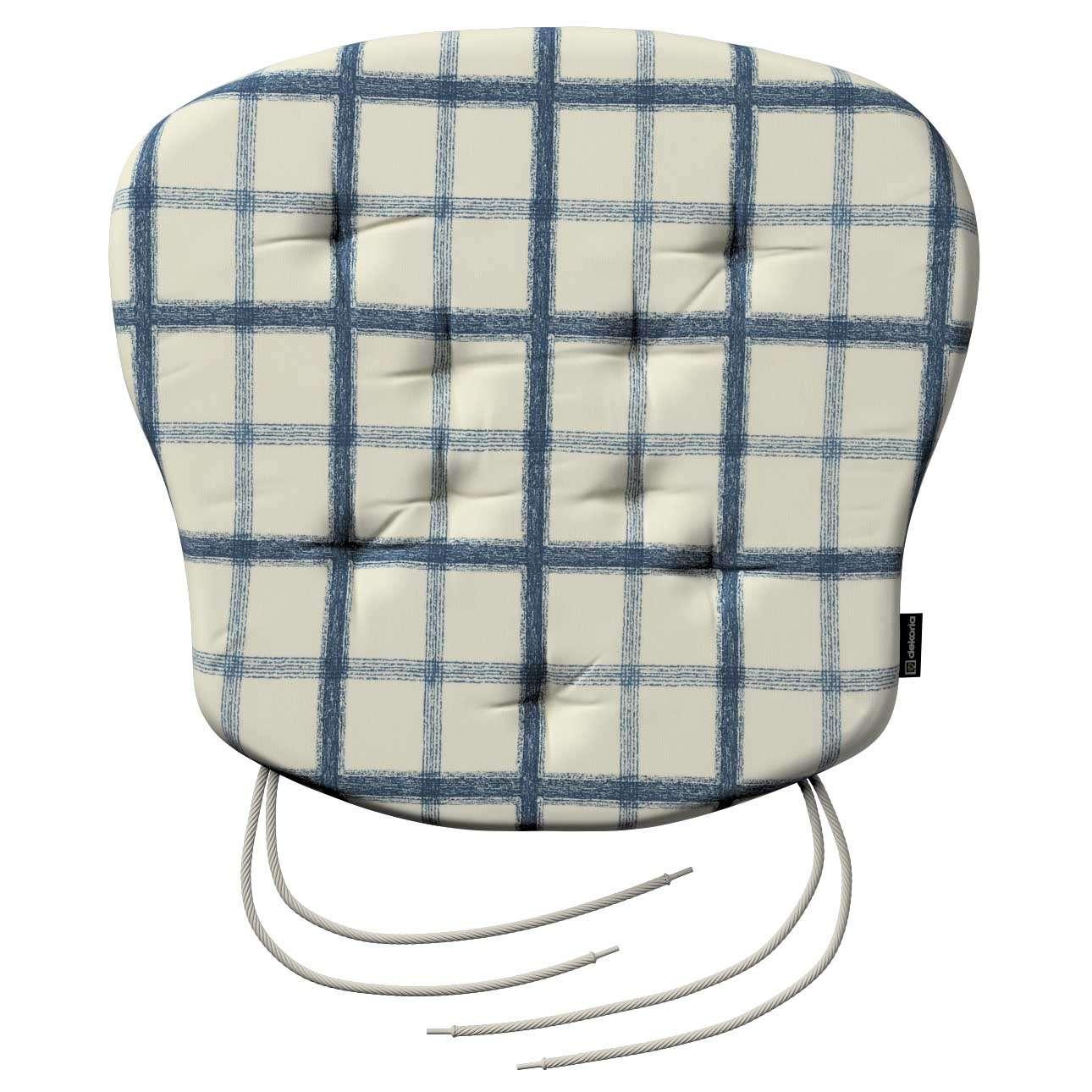 Siedzisko Filip na krzesło 41x38x3,5 cm w kolekcji Avinon, tkanina: 131-66
