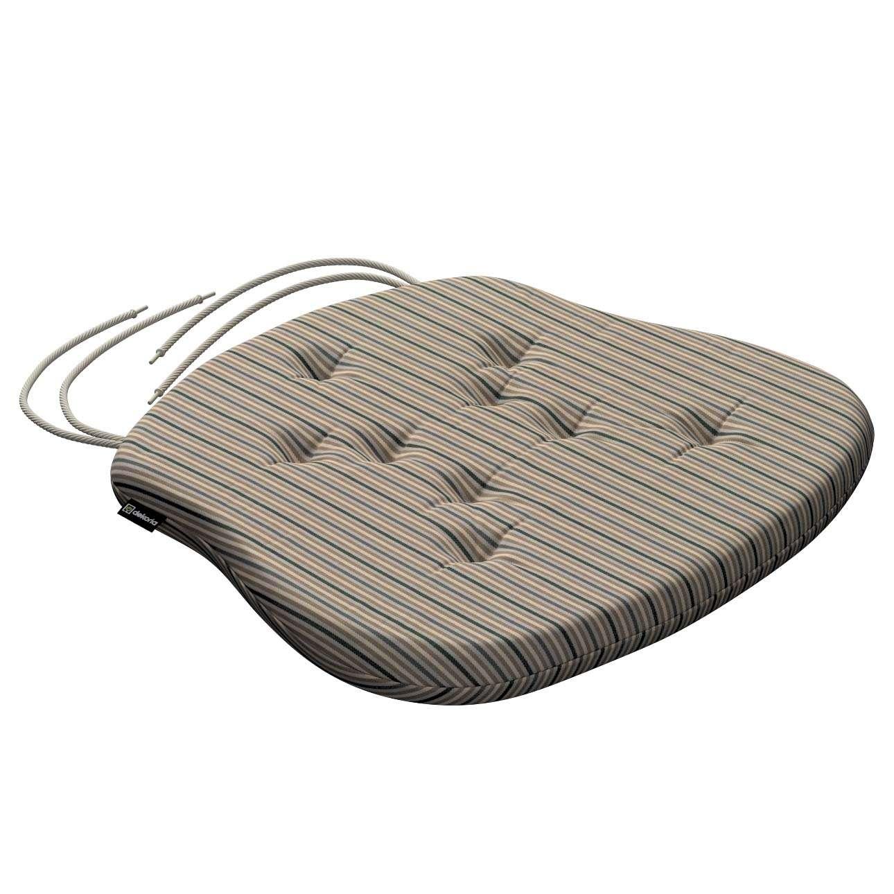 Siedzisko Filip na krzesło w kolekcji Londres, tkanina: 143-38