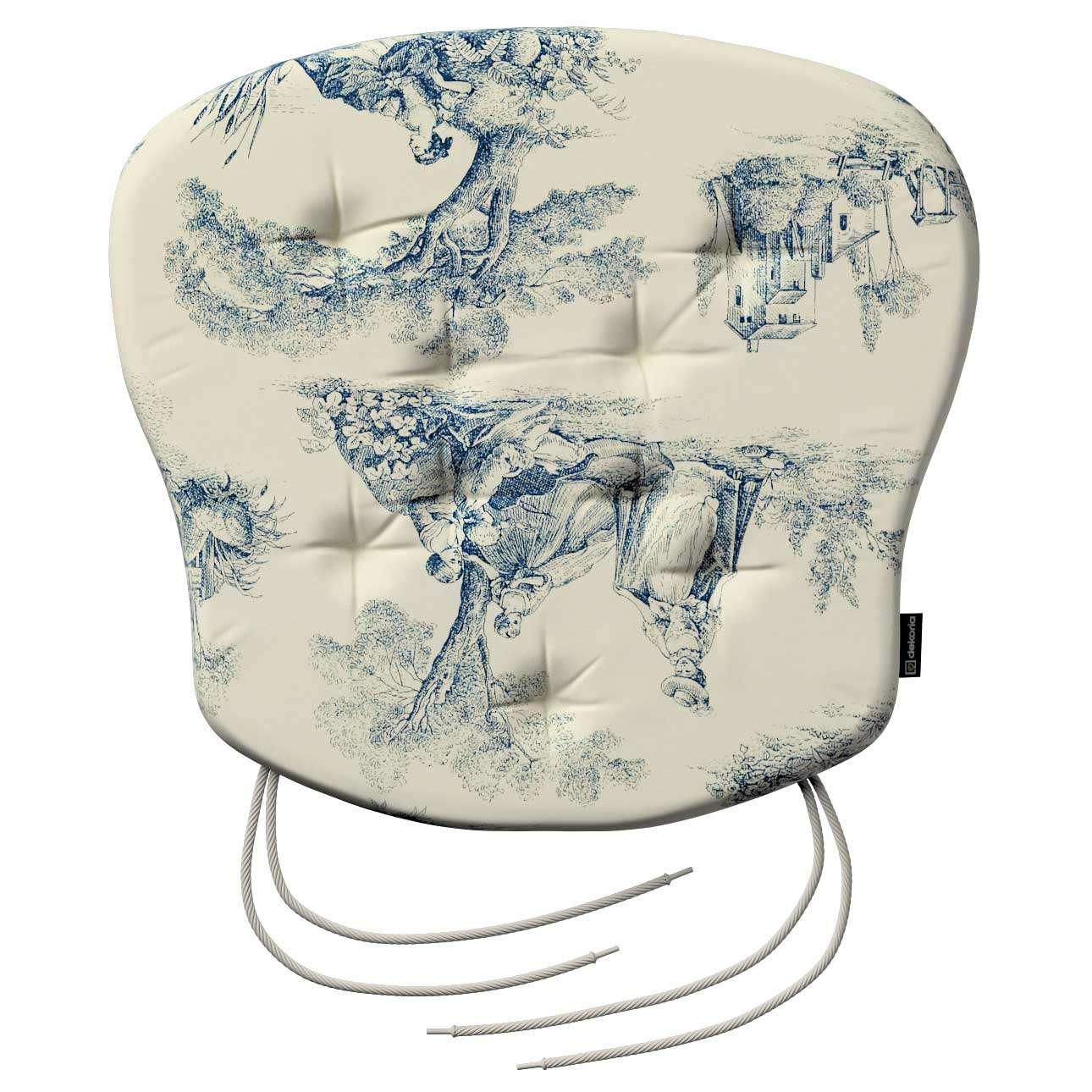 Siedzisko Filip na krzesło 41x38x3,5 cm w kolekcji Avinon, tkanina: 132-66