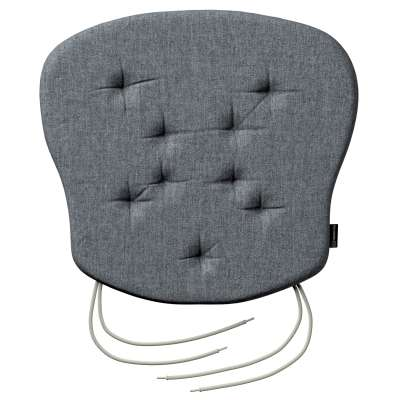Philip seat pad with ties 704-86 graphite - gray Collection City