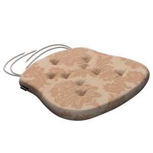Siedzisko Filip na krzesło 41x38x3,5 cm w kolekcji Damasco, tkanina: 613-04