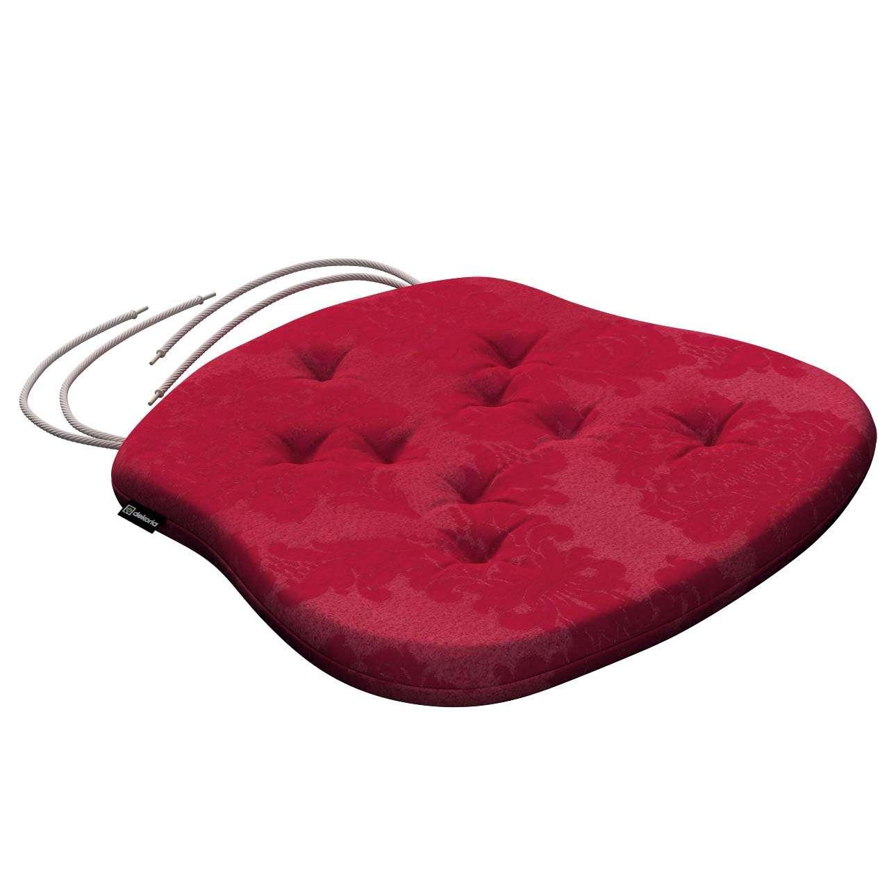 Kėdės pagalvėlė Filip  41 x 38 x 3,5 cm kolekcijoje Damasco, audinys: 613-13