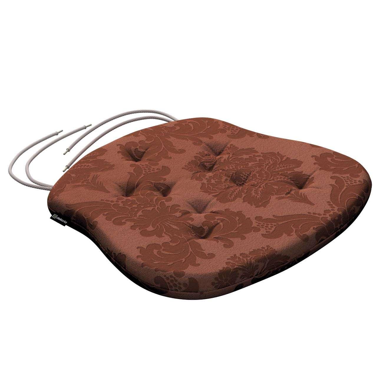 Sedák Filip 41x38x3,5cm v kolekci Damasco, látka: 613-88