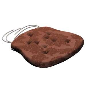 Siedzisko Filip na krzesło 41x38x3,5 cm w kolekcji Damasco, tkanina: 613-88