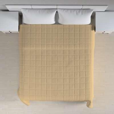 Lovatiesės (kvadratėliais dygsniuotos) 702-01 smėlio/kapučino Kolekcija Cotton Panama