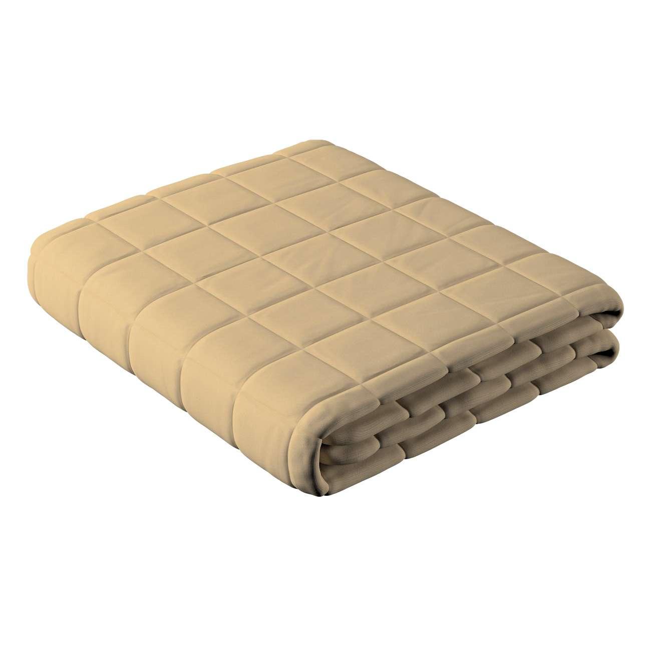 Prehoz prešívaný do štvorcov V kolekcii Cotton Panama, tkanina: 702-01