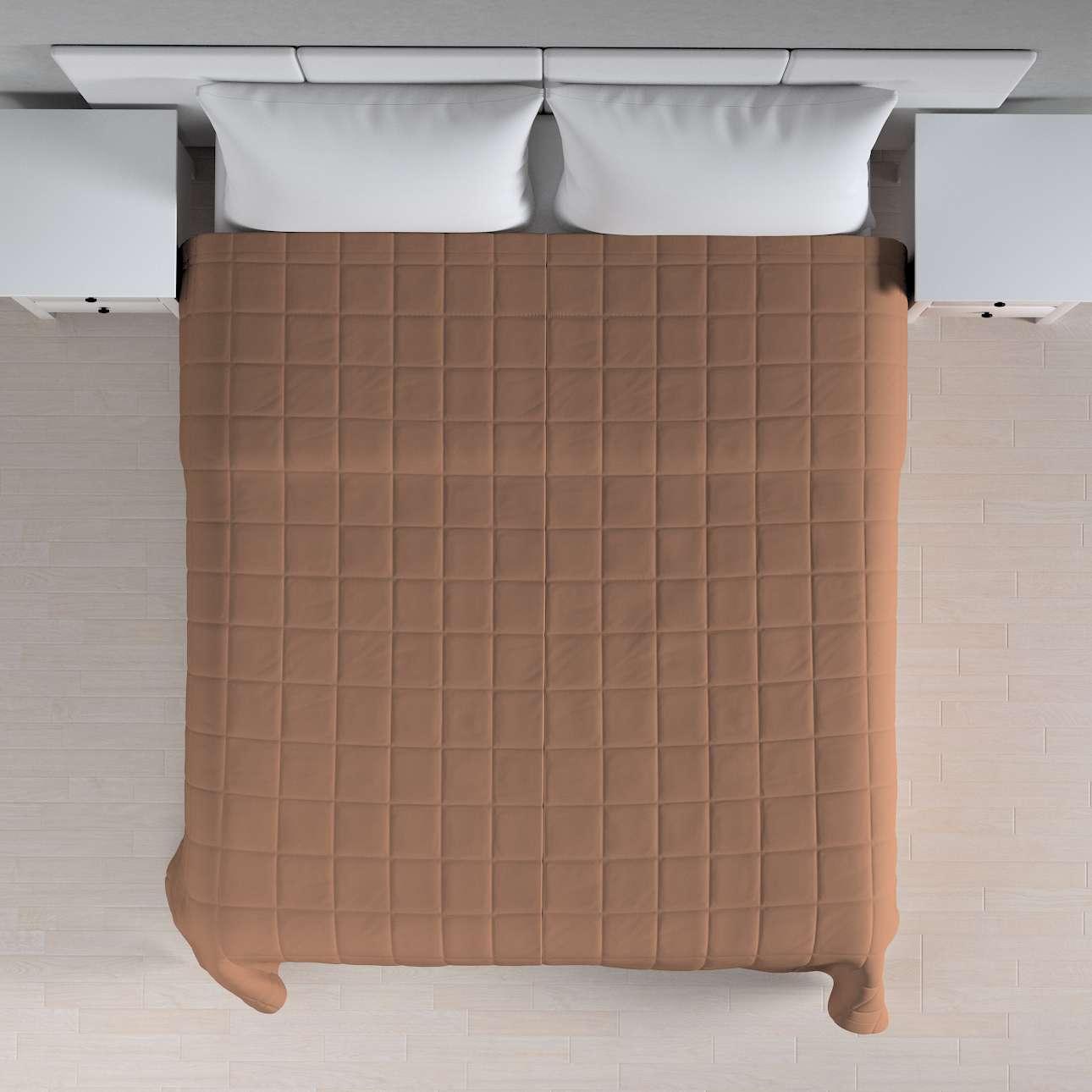Prehoz prešívaný do štvorcov V kolekcii Cotton Panama, tkanina: 702-02