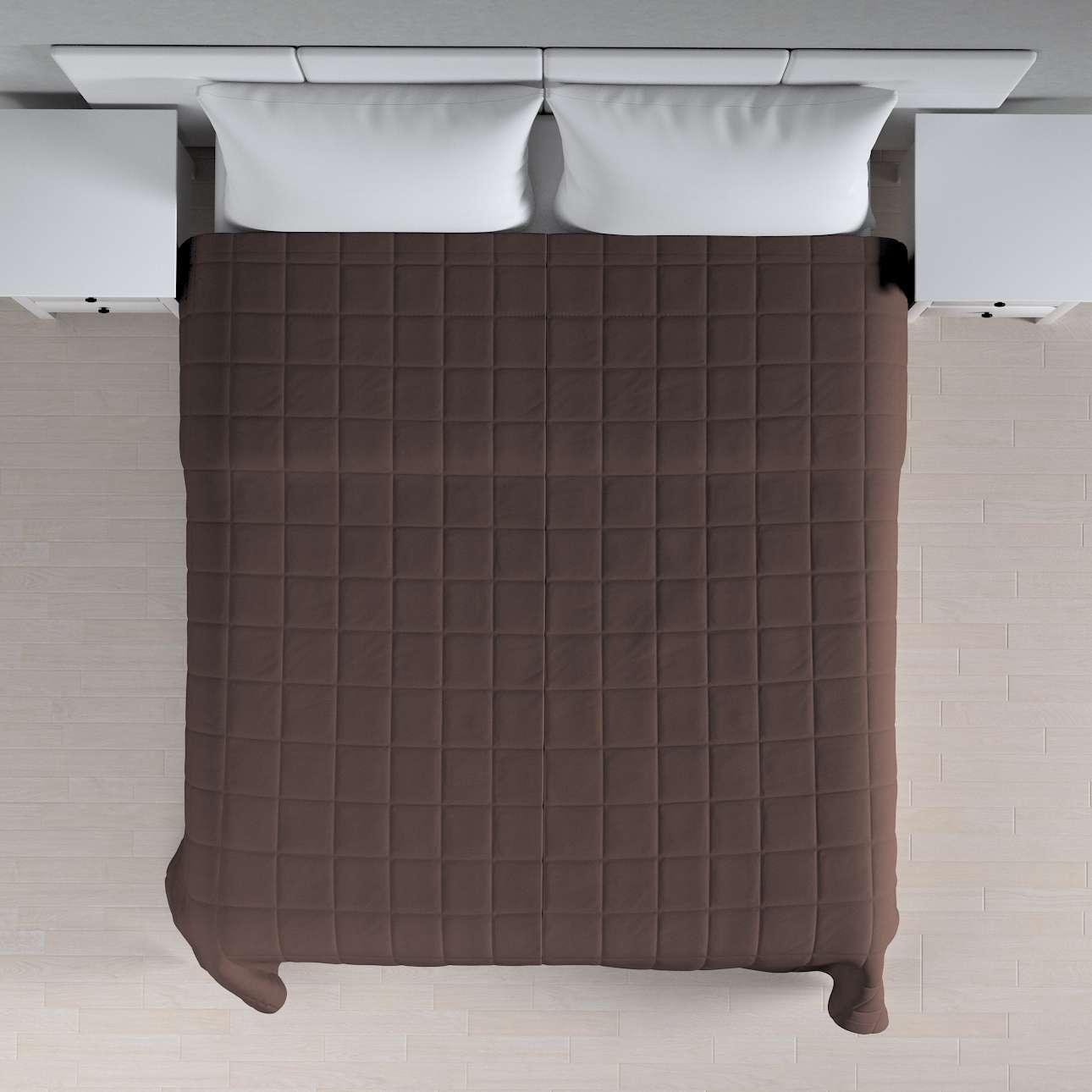 Tagesdecke mit Karosteppung von der Kollektion Cotton Panama, Stoff: 702-03