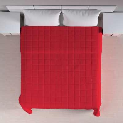 Basic takaró káró steppeléssel 702-04 skarlát vörös Méteráru Cotton Panama Bútorszövet