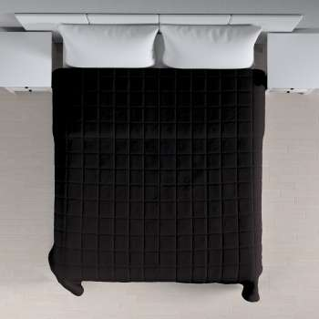Einfacher Überwurf mit Karosteppung 260 x 210 cm von der Kollektion Cotton Panama, Stoff: 702-09