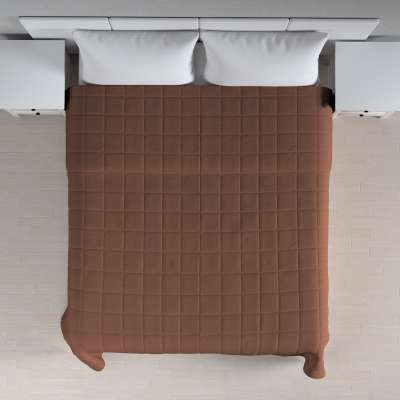 Lovatiesės (kvadratėliais dygsniuotos) 133-09 ruda Kolekcija Loneta