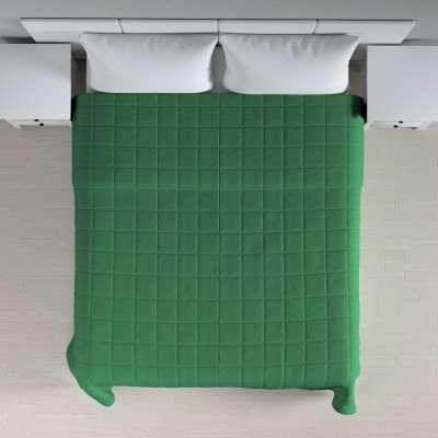Lovatiesės (kvadratėliais dygsniuotos) 133-18 tamsiai žalia Kolekcija Loneta