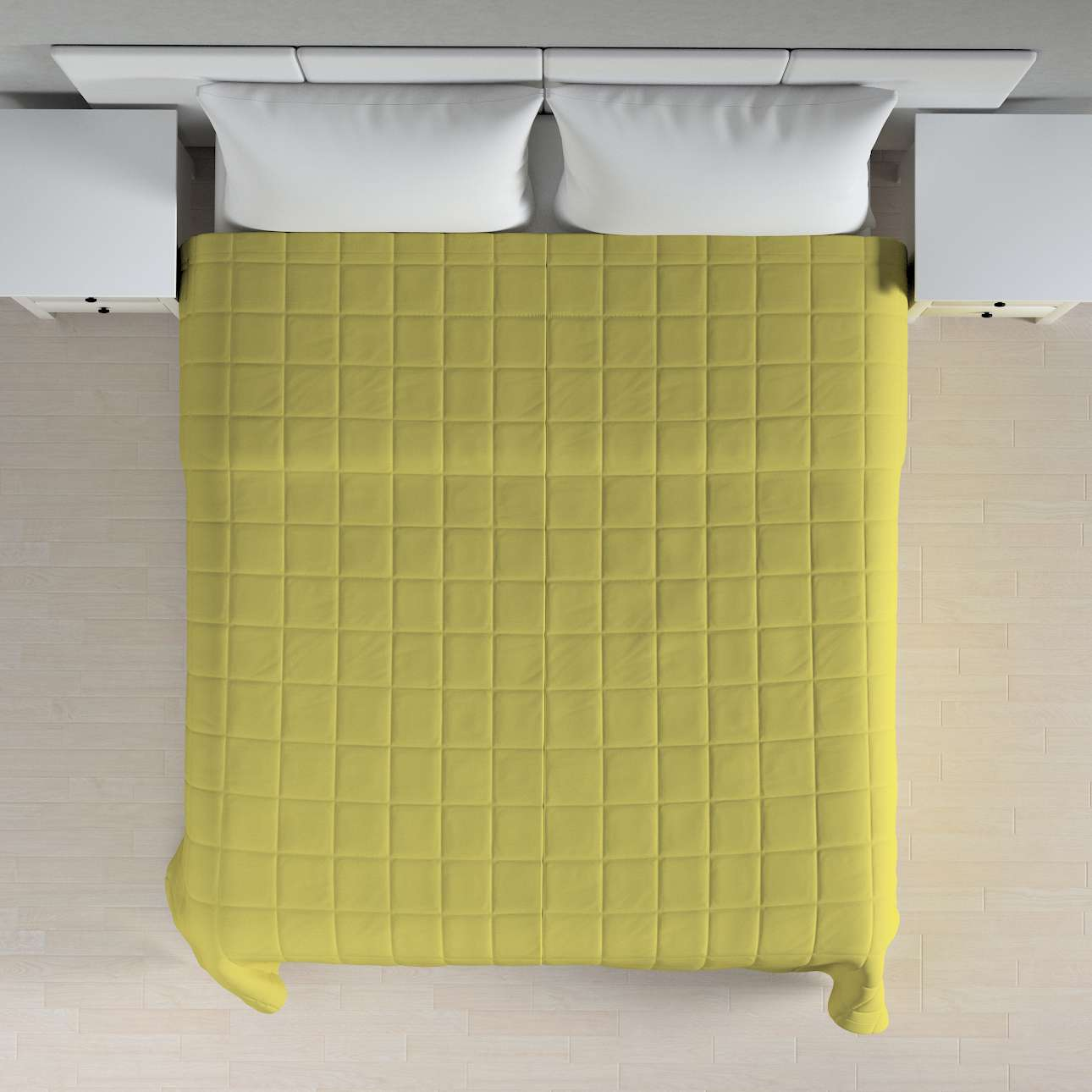 Check quilted throw in collection Loneta , fabric: 133-23