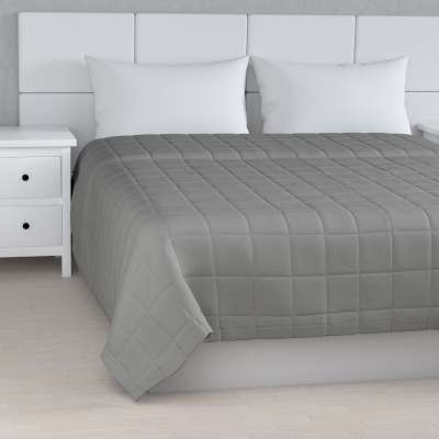 Check quilted throw 133-24 grey Collection Loneta