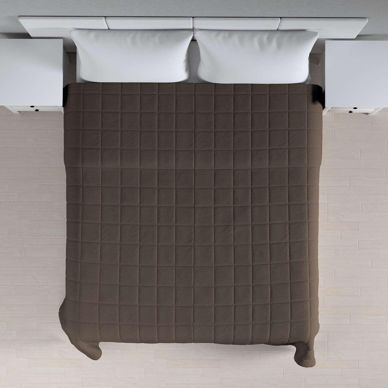 Einfacher Überwurf mit Karosteppung 260 x 210 cm von der Kollektion Etna, Stoff: 705-08