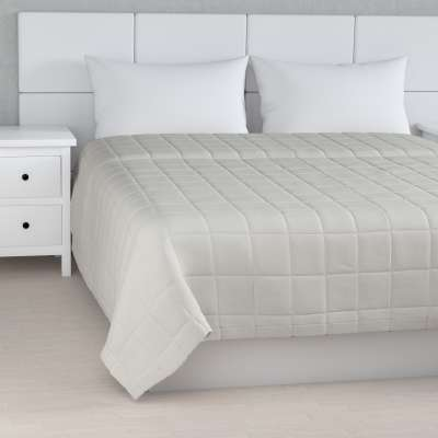 Check quilted throw