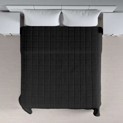 Tagesdecke mit Karosteppung 705-00 schwarz Kollektion Etna