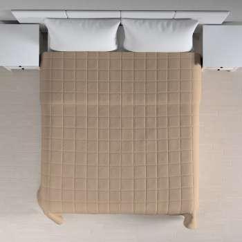Narzuta pikowana w kratę szer.260 x dł.210 cm w kolekcji Cotton Panama, tkanina: 702-28
