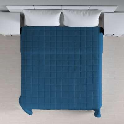 Basic takaró káró steppeléssel 702-30 ultramarin kék Méteráru Cotton Panama Bútorszövet