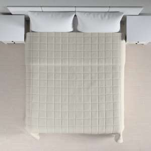 Einfacher Überwurf mit Karosteppung 260 x 210 cm von der Kollektion Cotton Panama, Stoff: 702-31