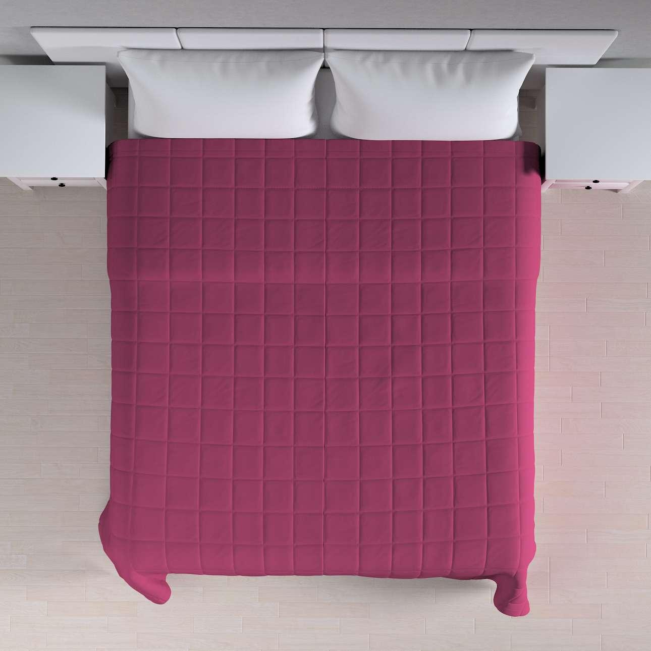 Prehoz prešívaný do štvorcov V kolekcii Cotton Panama, tkanina: 702-32