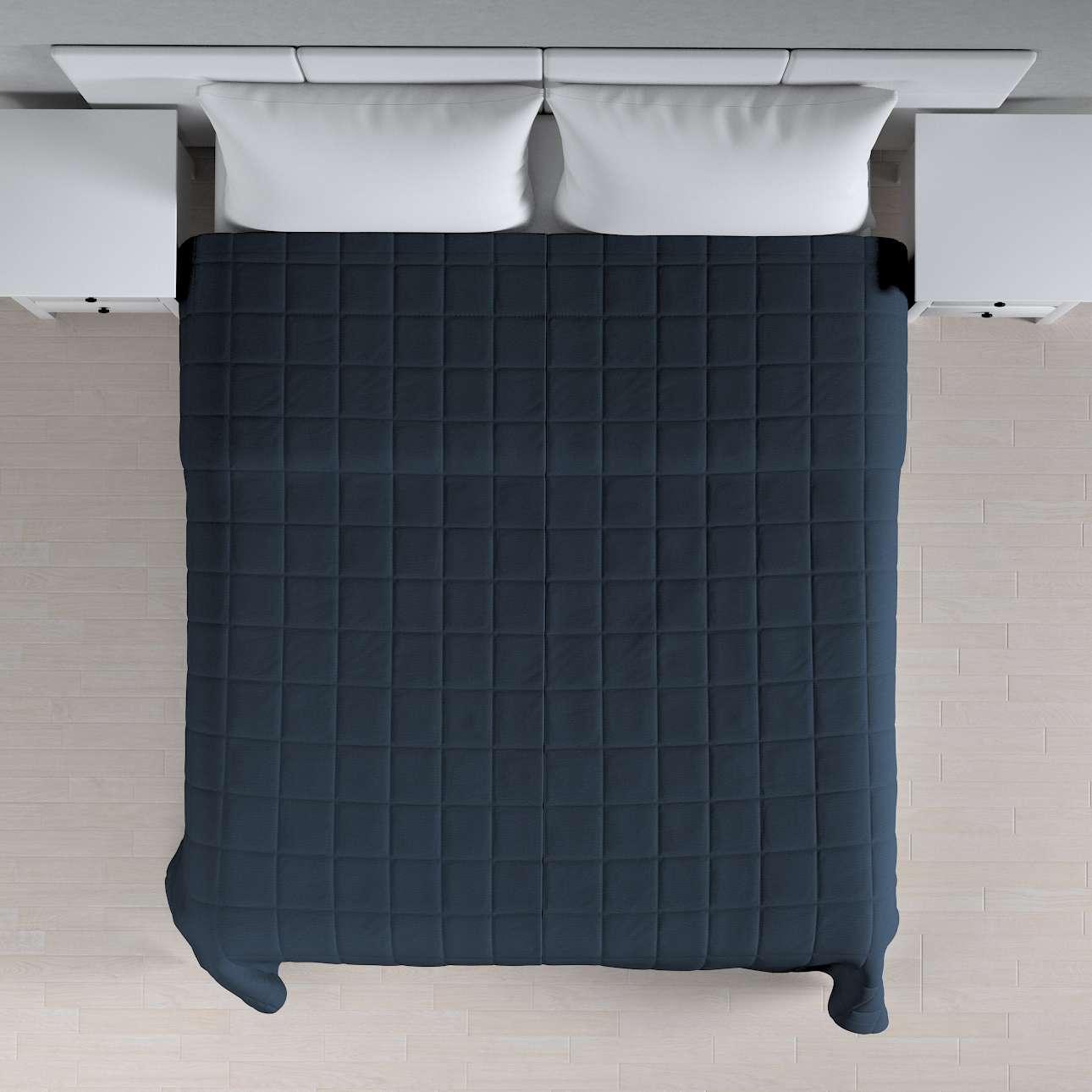 Prehoz prešívaný do štvorcov V kolekcii Quadro, tkanina: 136-04