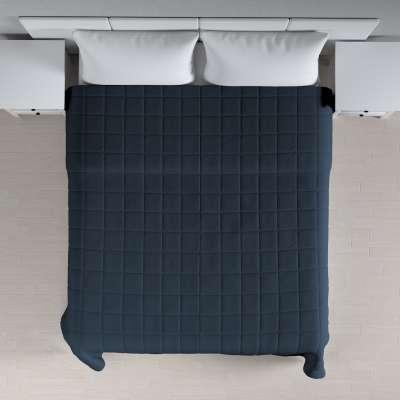 Lovatiesės (kvadratėliais dygsniuotos) 136-04 Tamsiai mėlyna Kolekcija Quadro