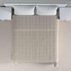 Narzuta pikowana w kratę szer.260 x dł.210 cm w kolekcji Quadro, tkanina: 136-12