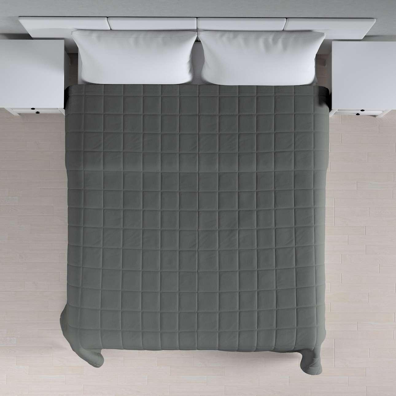 Prehoz prešívaný do štvorcov V kolekcii Quadro, tkanina: 136-14