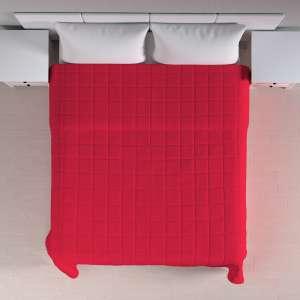 Einfacher Überwurf mit Karosteppung 260 x 210 cm von der Kollektion Quadro, Stoff: 136-19