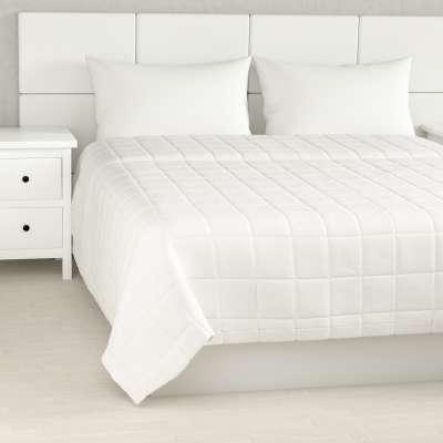 Lovatiesės (kvadratėliais dygsniuotos) 702-34 balta Kolekcija Cotton Panama