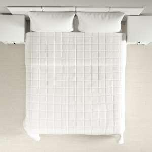 Einfacher Überwurf mit Karosteppung 260 x 210 cm von der Kollektion Cotton Panama, Stoff: 702-34