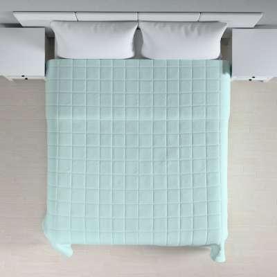 Lovatiesės (kvadratėliais dygsniuotos) 702-10 pastelinė mėlyna Kolekcija Cotton Panama