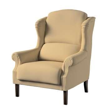 Fotel Unique w kolekcji Cotton Panama, tkanina: 702-01
