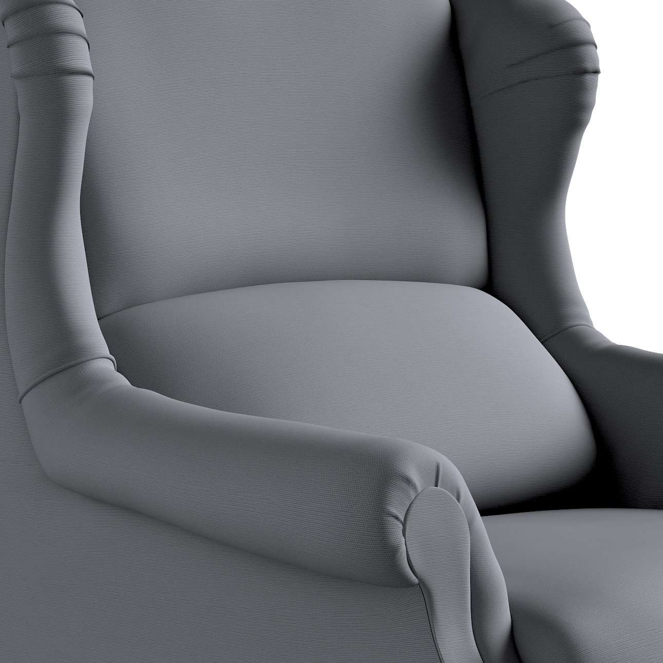 Fotel Unique w kolekcji Cotton Panama, tkanina: 702-07