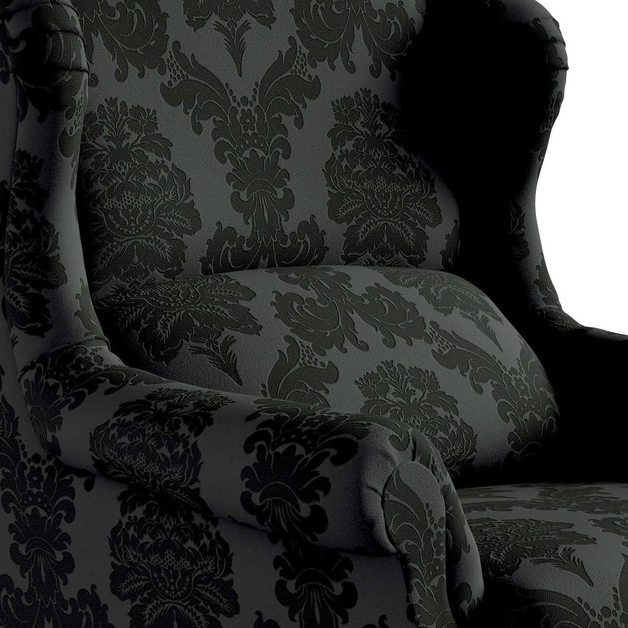 Fotel Unique w kolekcji Damasco, tkanina: 613-32