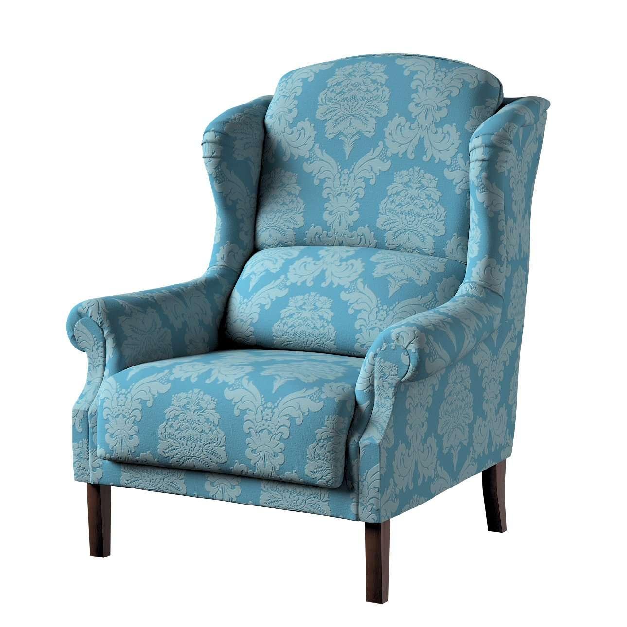 Sessel 63 x 115 cm von der Kollektion Damasco, Stoff: 613-67
