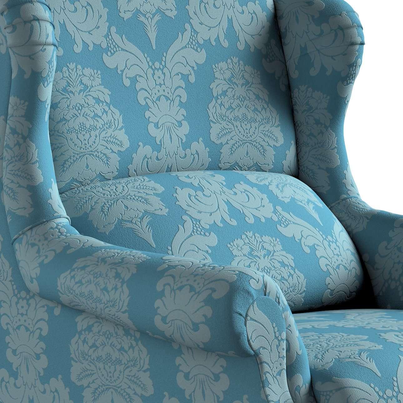 Fotel Unique w kolekcji Damasco, tkanina: 613-67