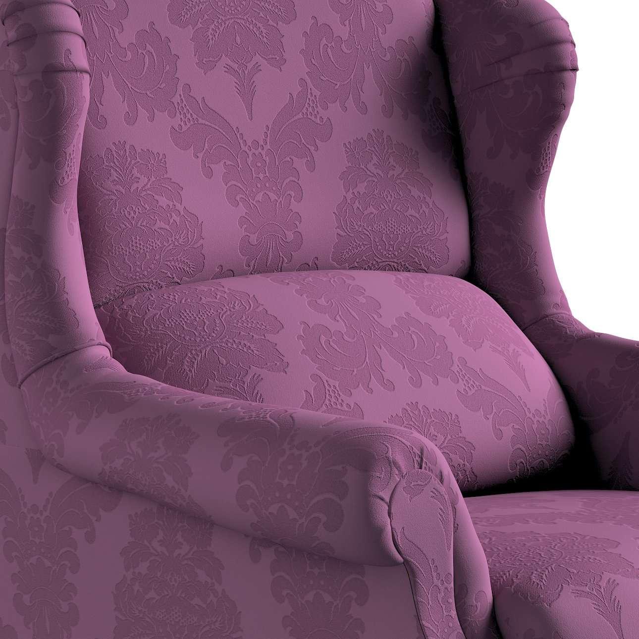 Fotel Unique w kolekcji Damasco, tkanina: 613-75