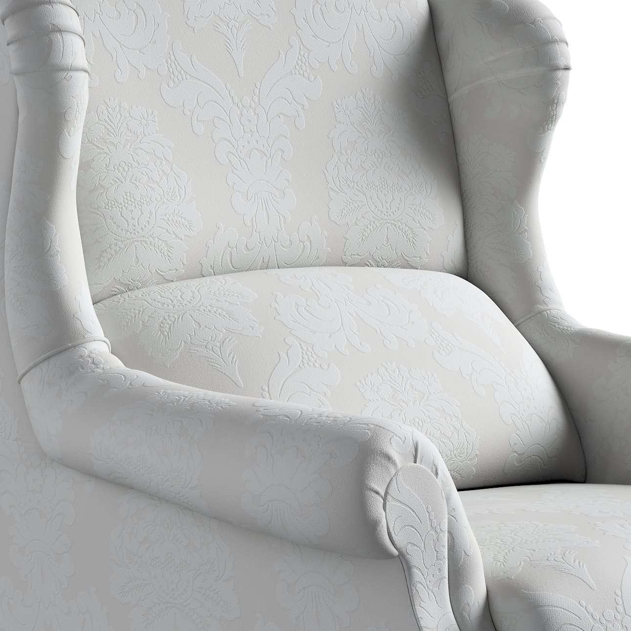 Fotel Unique w kolekcji Damasco, tkanina: 613-81