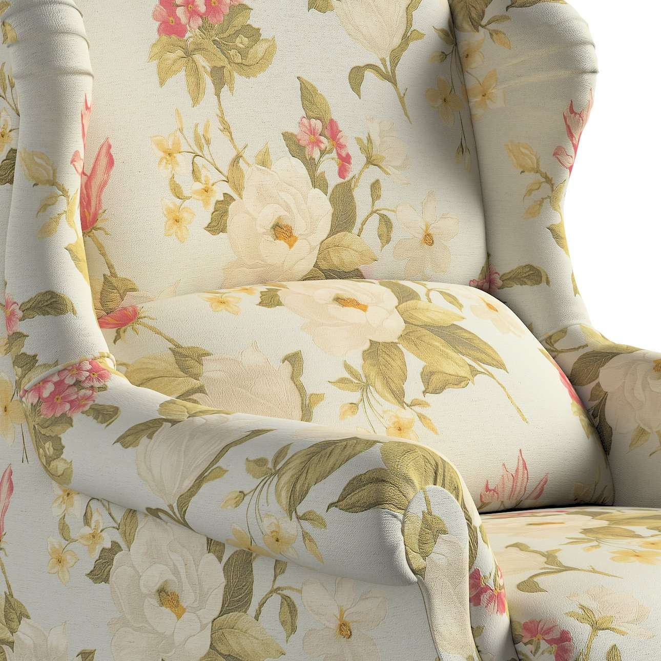 Sessel 63 x 115 cm von der Kollektion Londres, Stoff: 123-65