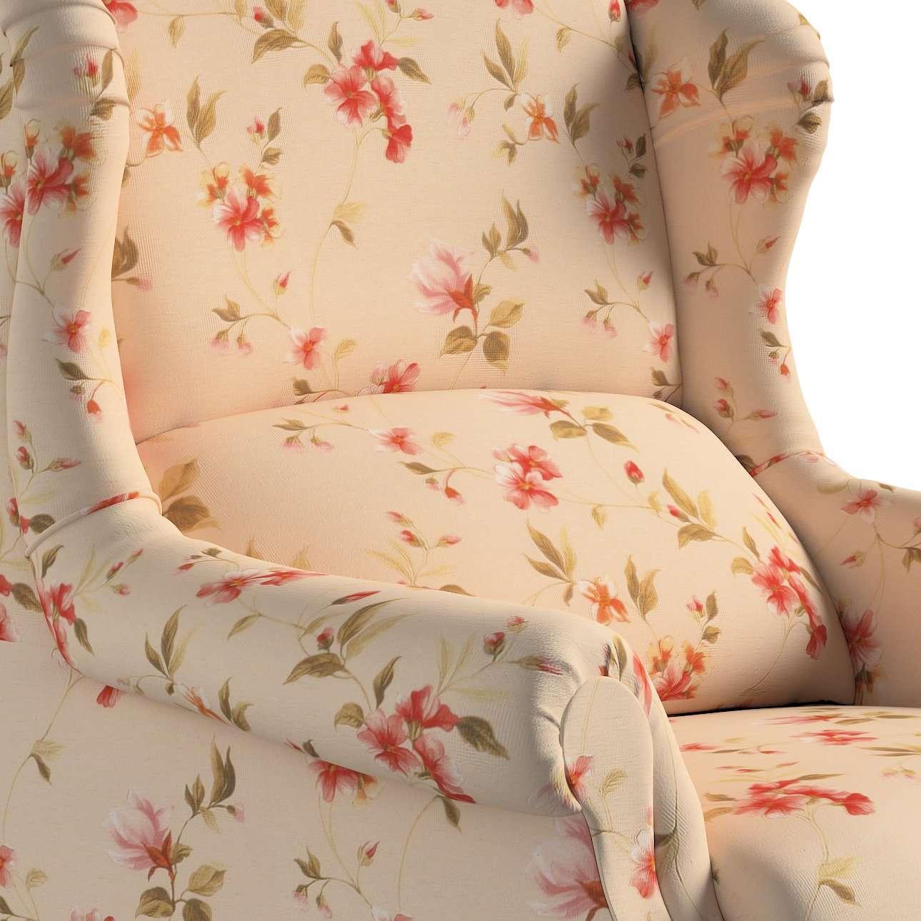 Sessel 85 x 107 cm von der Kollektion Londres, Stoff: 124-05