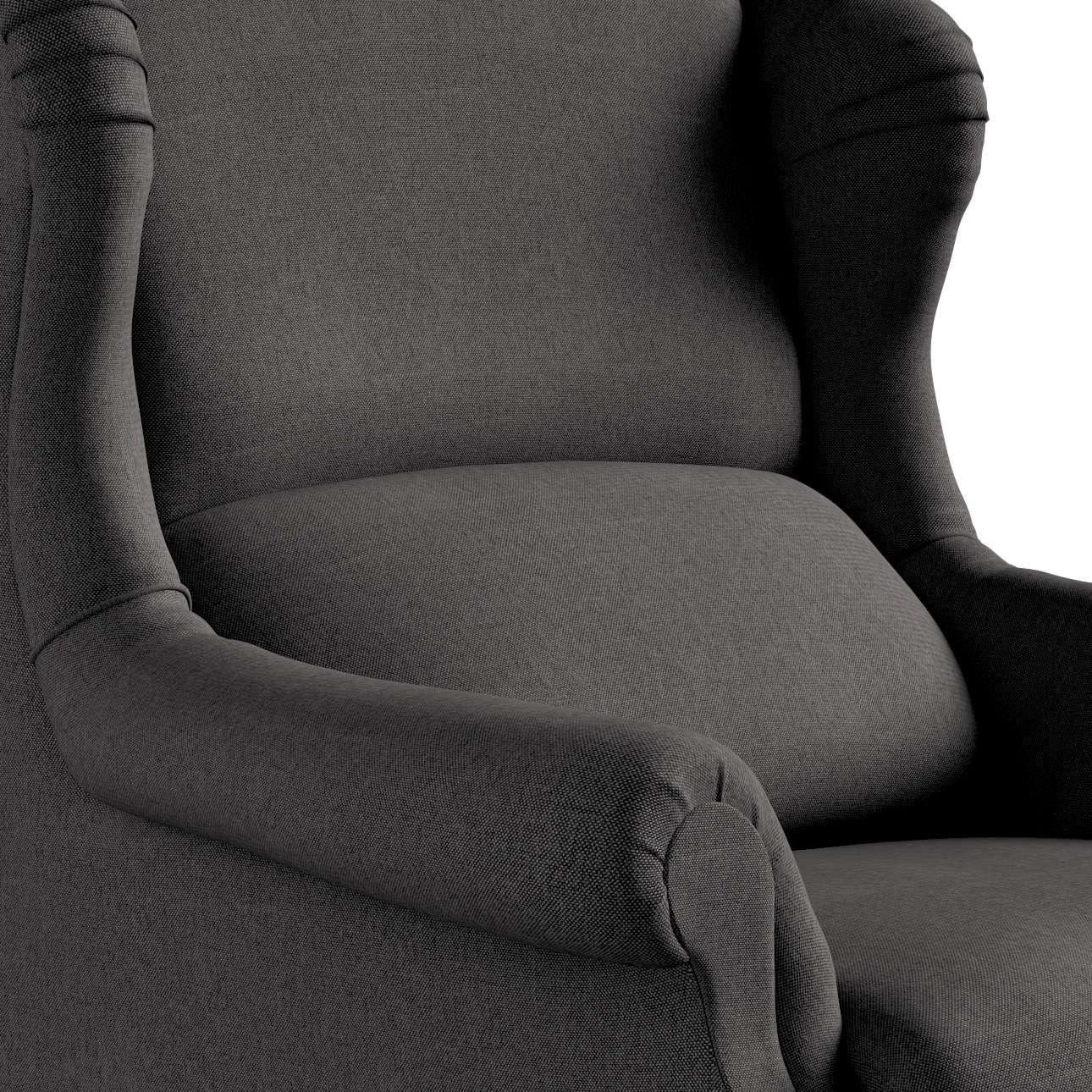Křeslo čalouněné klasické, ruční výroba v kolekci Etna, látka: 705-35