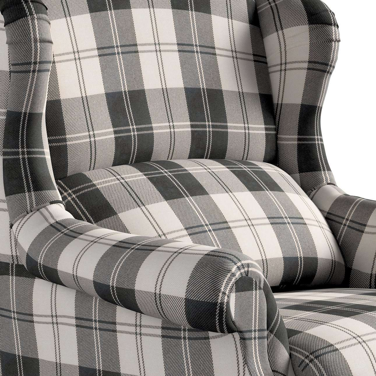Fotel 85x107cm w kolekcji Edinburgh, tkanina: 115-74