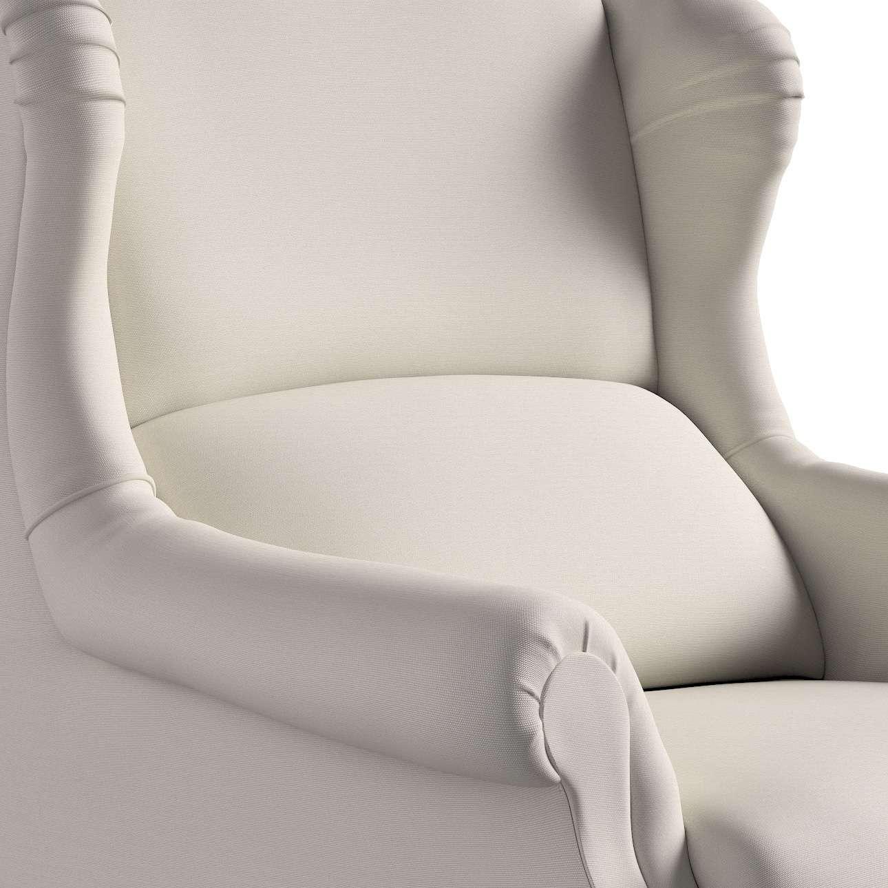 Kreslo čalúnené, ručne vyrábané V kolekcii Cotton Panama, tkanina: 702-31