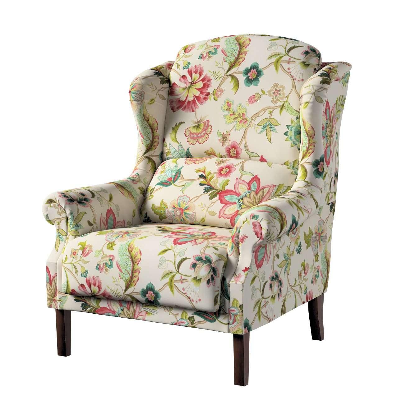 Sessel 85 x 107 cm von der Kollektion Londres, Stoff: 122-00