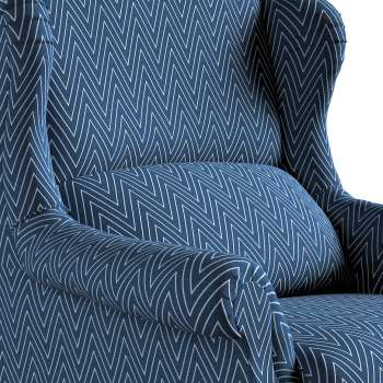 Fotel Unique w kolekcji Brooklyn, tkanina: 137-88