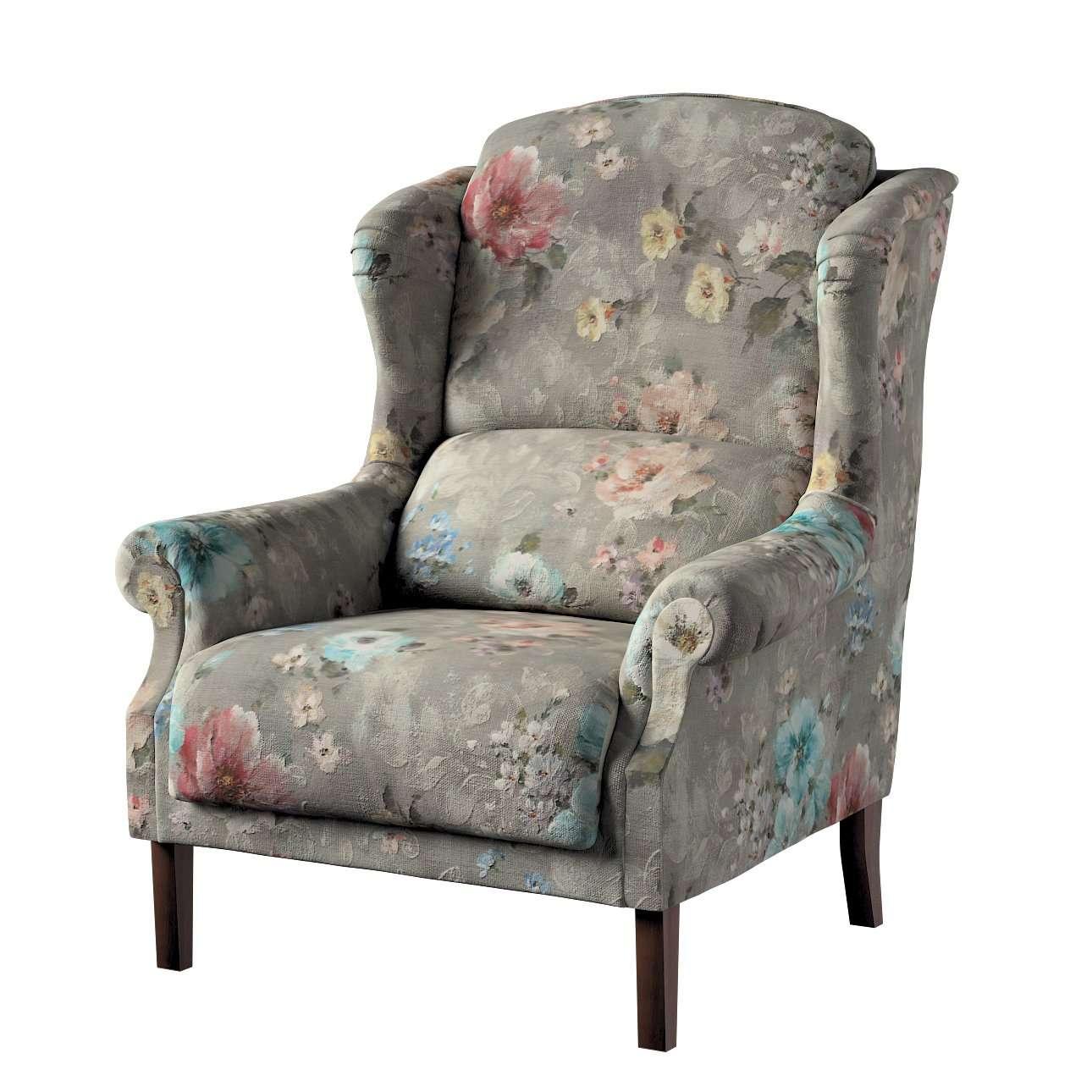 Fotel Unique w kolekcji Monet, tkanina: 137-81
