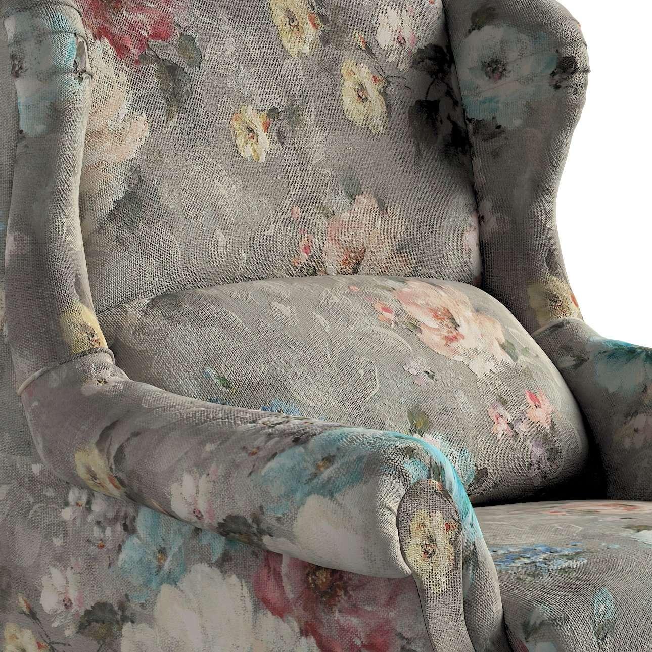 Sessel 85 x 107 cm von der Kollektion Monet, Stoff: 137-81
