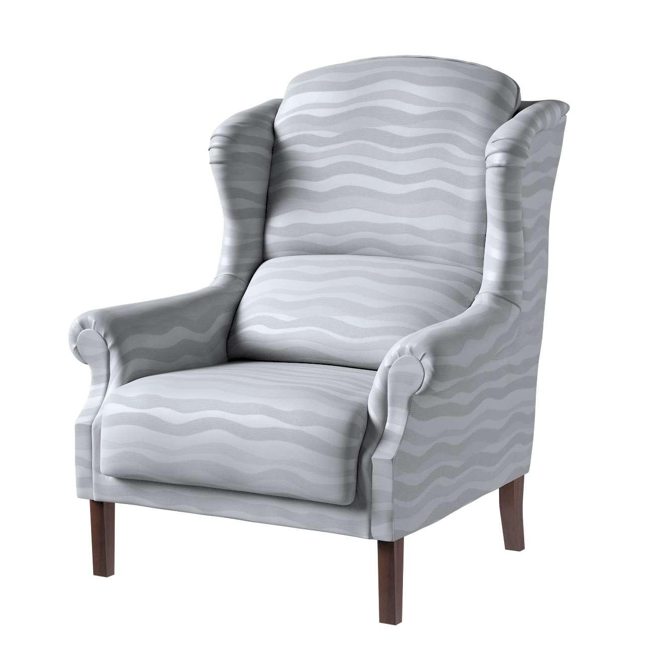 Fotel Unique w kolekcji Damasco, tkanina: 141-72